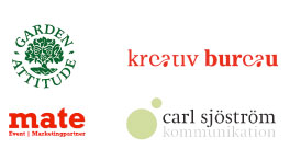 kreativ bureau i nätverk med garden attitude, mate och carlskom