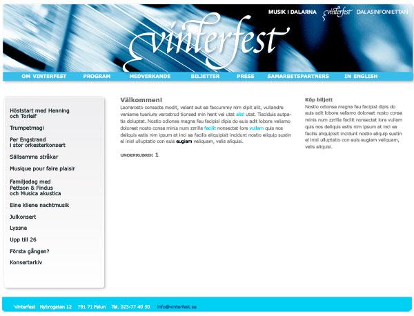 Musik i Dalarna Vinterfest sida