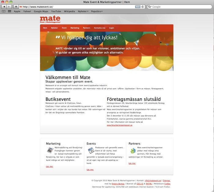 mateevnt-webbplats
