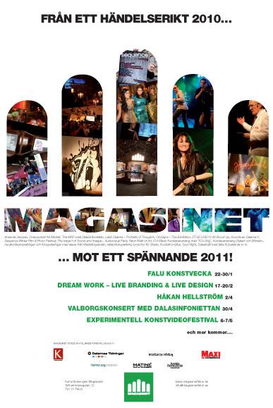 Annons Dalarnas Tidningar inför 2011