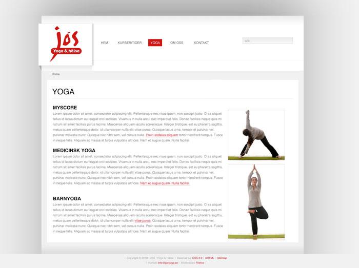 Jos Yoga Undersida Bred