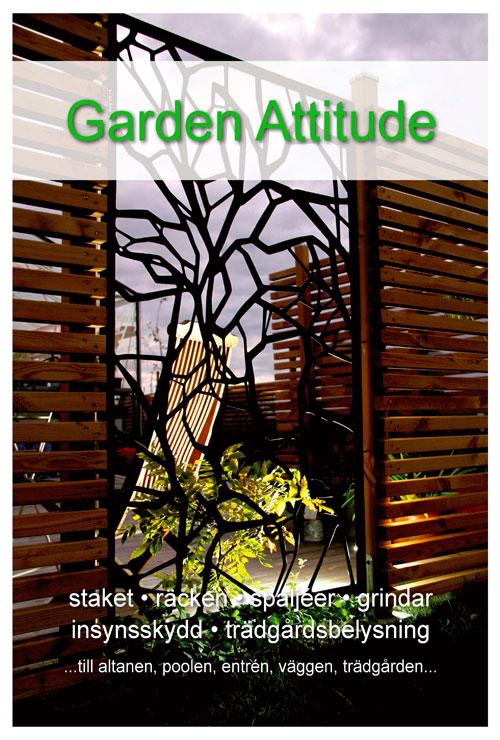 Produktkatalog 2011 garden attitude omslag