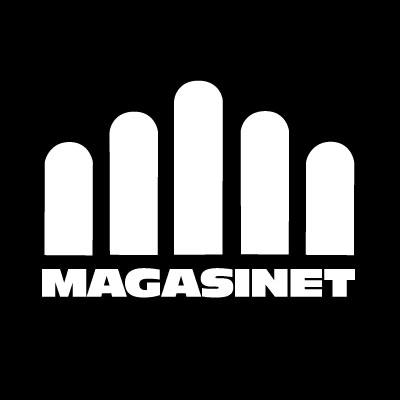 Facebook icon Magasinet Svart