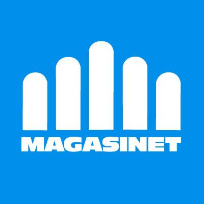 Facebook icon Magasinet Blå