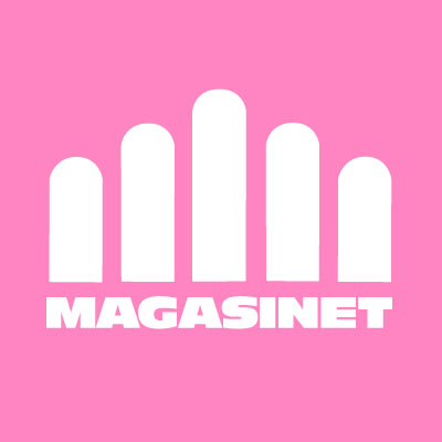 Facebook icon Magasinet Pink