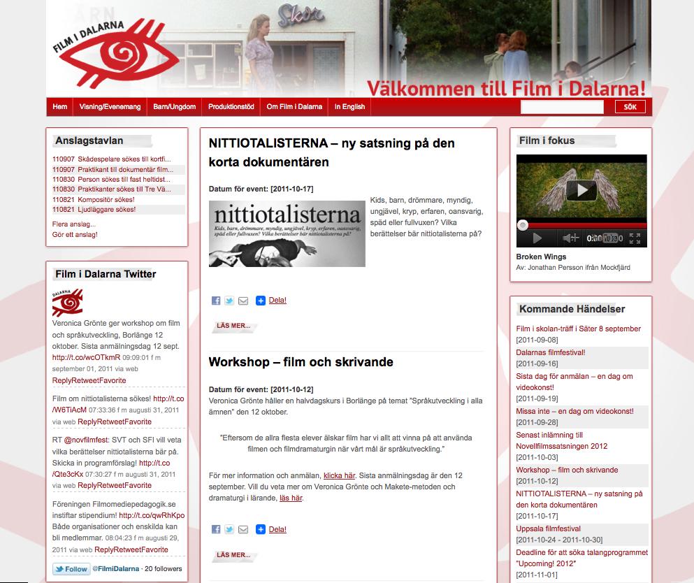 Film i Dalarna Goes WordPress