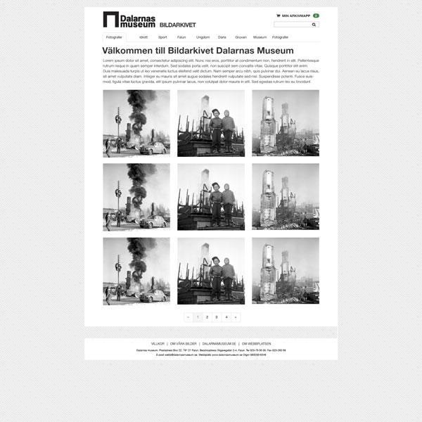 arkiv.dalarnasmuseum.se-start