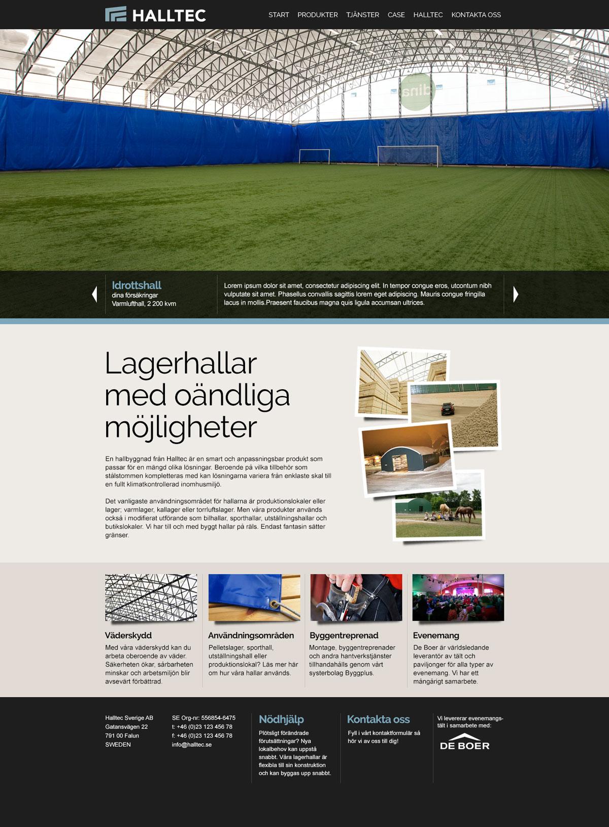 Halltec_Desktop-startpage